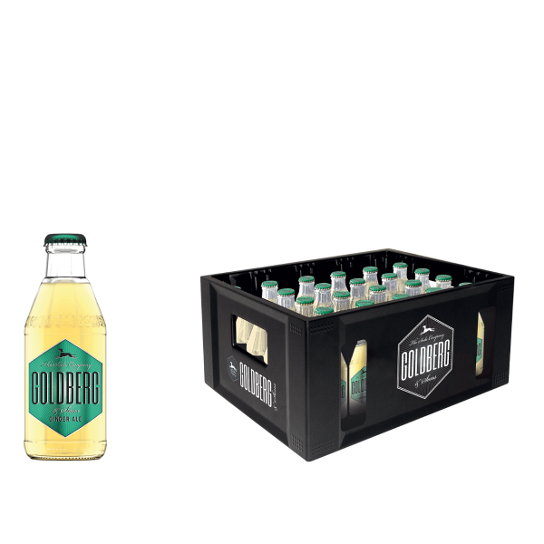 Goldberg Ginger Ale 24 x 0,2l