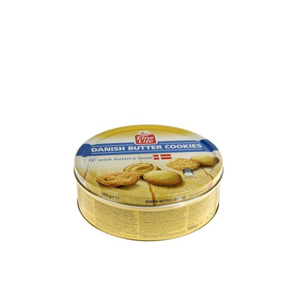 Fine Life Danish Butter Cookies 500 g