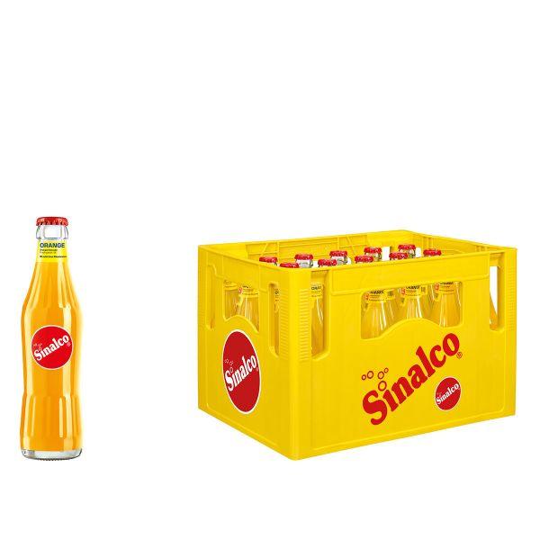 Sinalco Orange 24 x 0,33l Glas Kiste MEHRWEG