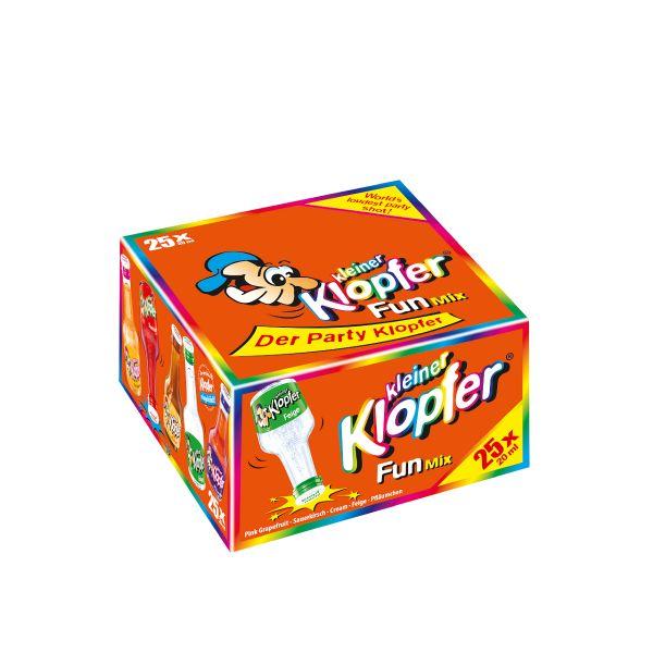 Kleiner Klopfer Fun Mix 25/0,02l Glas