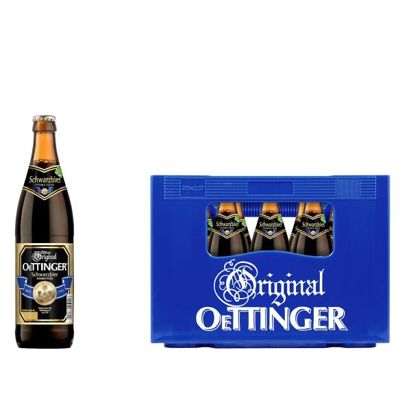 Oettinger Schwarzbier 20 x 0,5l