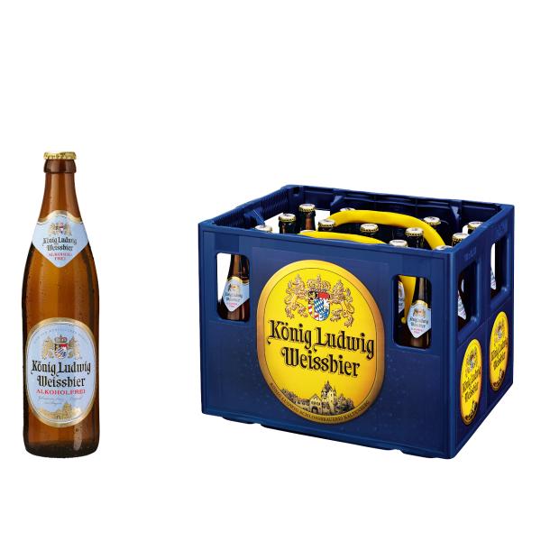 König Ludwig Weißbier Alkoholfrei 20 x 0,5l