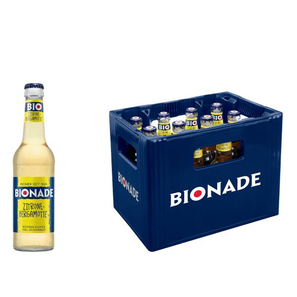 BIONADE Zitrone-Bergamotte 12 x 0,33l