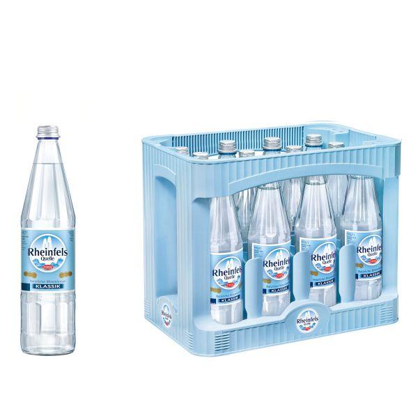 Rheinfels Classic 12 x 0,7l Glas Kiste MEHRWEG