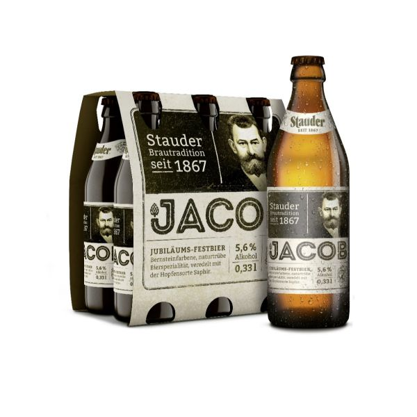 Stauder Jacob Jubiläums-Festbier 4 x 6 x 0,33l