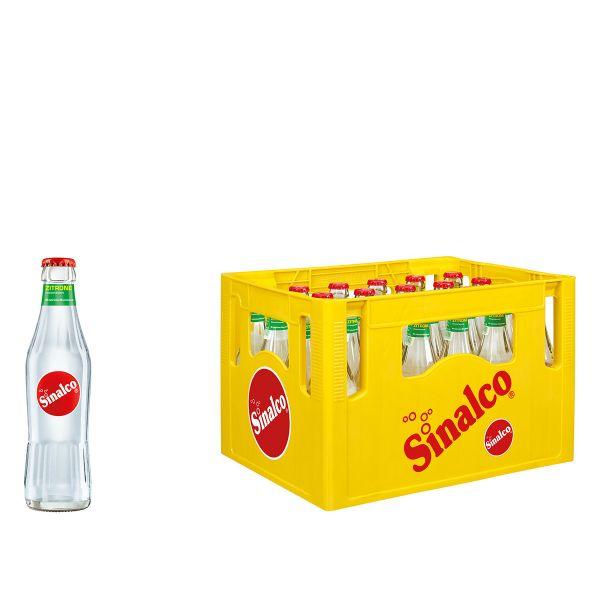 Sinalco Zitrone 24 x 0,2l Glas Kiste MEHRWEG