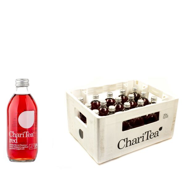 LemonAid ChariTea Red 20 x 0,33l