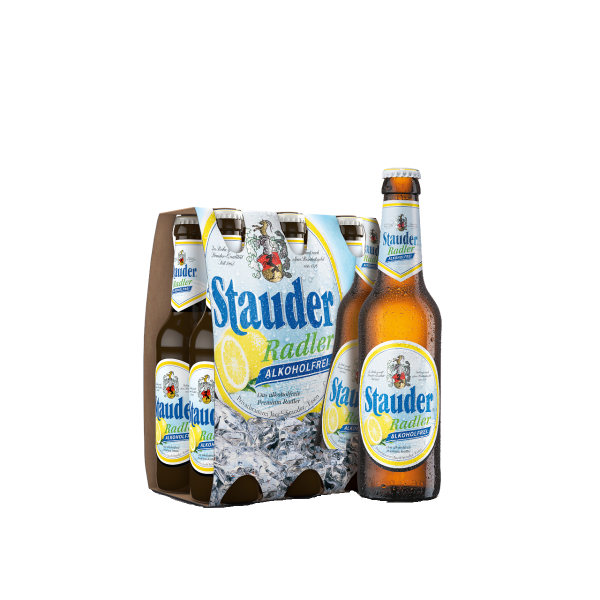 Stauder Radler Alkoholfrei 24 x 0,33l
