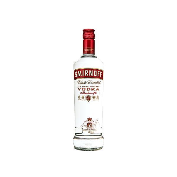 Smirnoff Vodka 37,5% 1,0l Glas