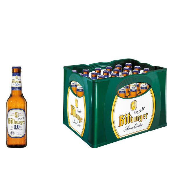 Bitburger Alkoholfrei 24 x 0,33l