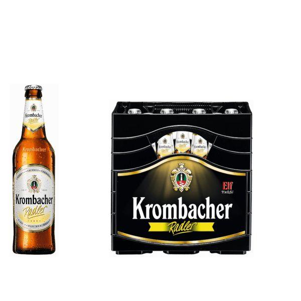 Krombacher Radler 11 x 0,5l Glas MEHRWEG
