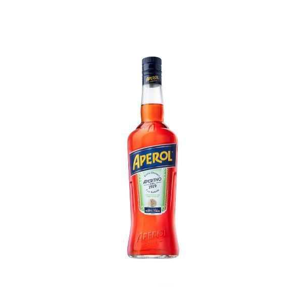 Aperol 15% 0,7l Glas
