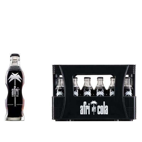 Afri Cola 10mg Koffein 24 x 0,2l Glas Kiste MEHRWEG