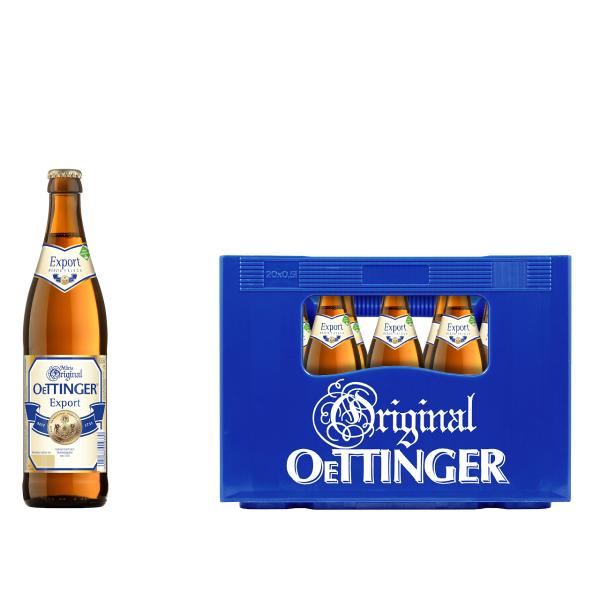 Oettinger Export 20 x 0,5l