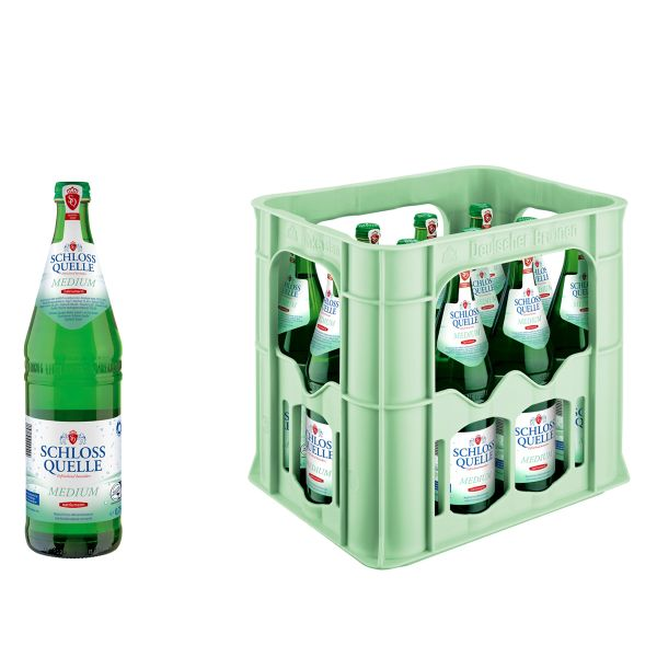 Schloss Quelle Medium 12 x 0,75l