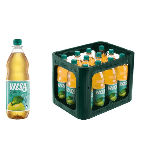 Vilsa Apfelschorle 12 x 1,0l