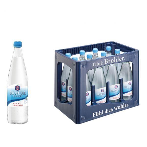Brohler Classic 12 x 0,7l Glas Kiste MEHRWEG