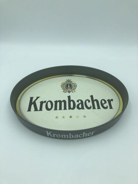 Serviertablett Krombacher Schwarz Gebraucht