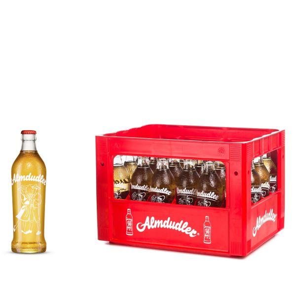 Almdudler Kräuterlimonade 24 x 0,35l Glas Kiste MEHRWEG