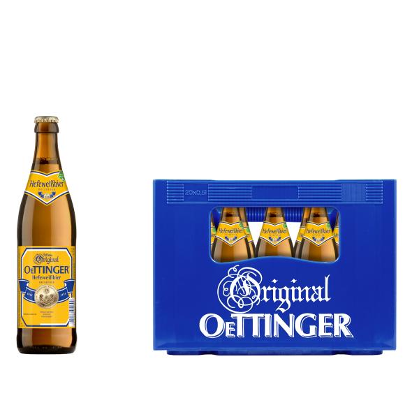 Oettinger Weißbier 20 x 0,5l