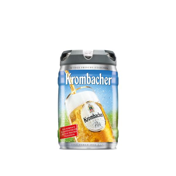 Krombacher Pils frische Fass 2x5l
