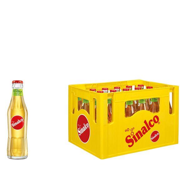 Sinalco Apfelschorle 24 x 0,2l Glas Kiste MEHRWEG