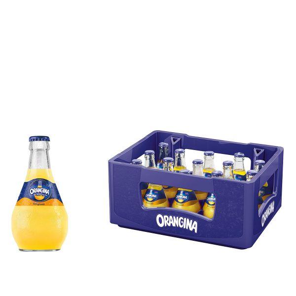 Orangina Original15 x 0,25l Glas Kiste MEHRWEG