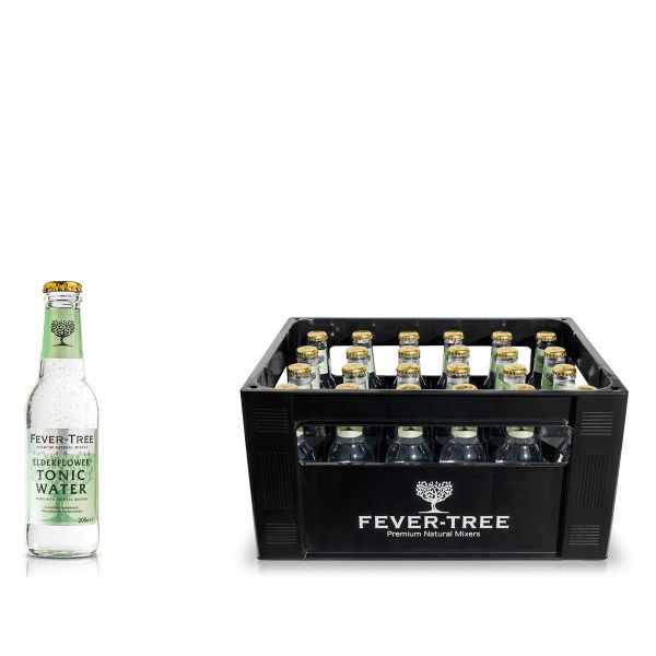 Fever-Tree Elderflower Tonic Water 24 x 0,2l
