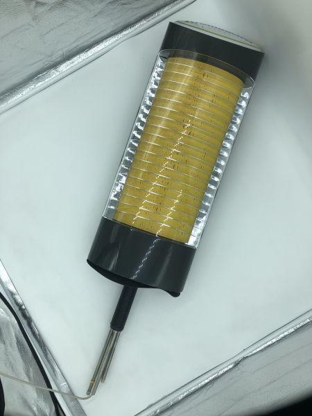 Schanksäule 1-Leitig mit Beleuchtung Model Krombacher