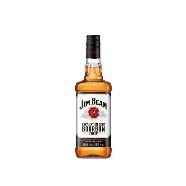 Jim Beam 40% 0,7l Glas