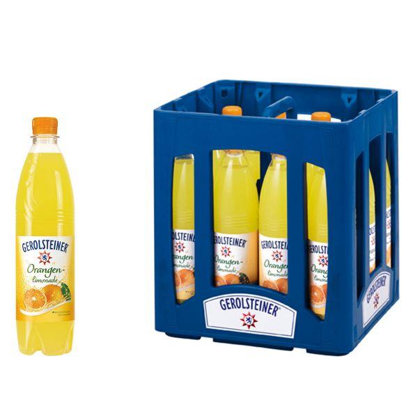 Gerolsteiner Orangen Limonade 12 x 0,75l PET Kiste MEHRWEG
