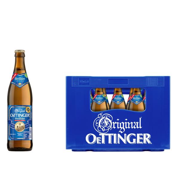 Oettinger Weißbier Alkoholfrei 20 x 0,5l
