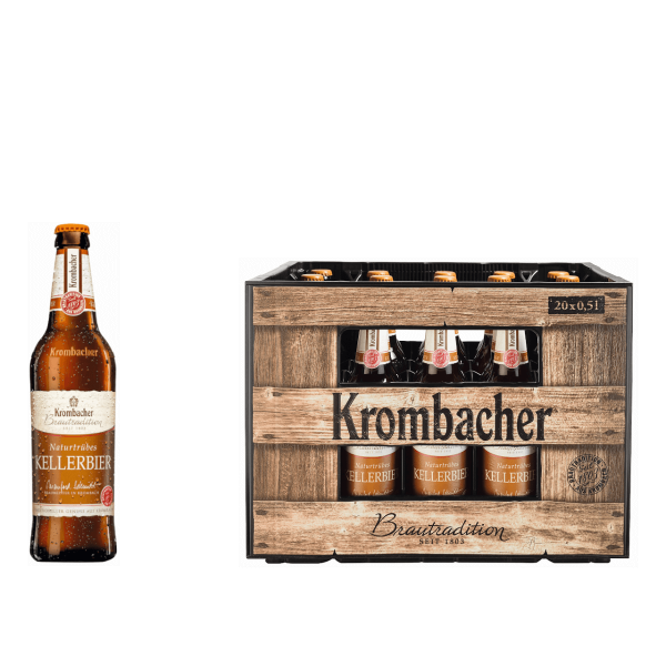 Krombacher Brautradition Kellerbier 20 x 0,5l