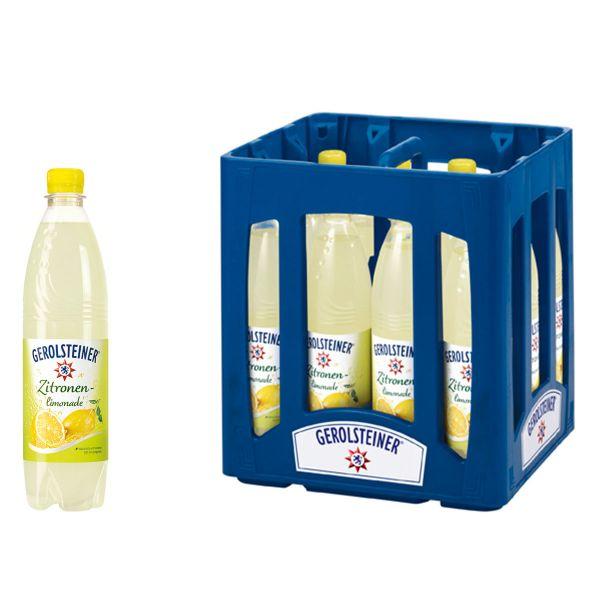Gerolsteiner Zitronenlimonade 12 x 0,75l PET Kiste MEHRWEG