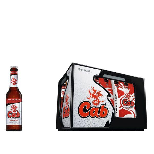 Cab Cola & Beer 24 x 0,33l