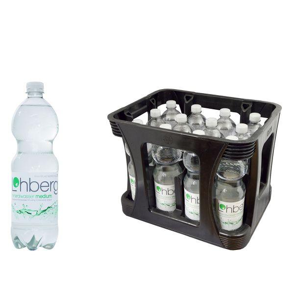 Lohberg Medium 12 x 1,0l PET-C Kiste EINWEG