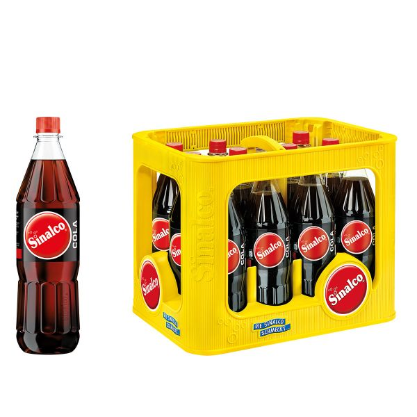 Sinalco Cola 12 x 1,0l PET Kiste MEHRWEG