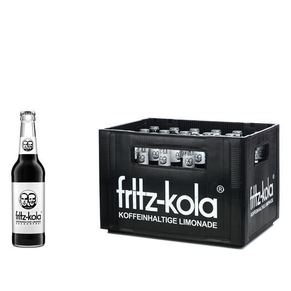 Fritz Kola ohne Zucker 24 x 0,33l