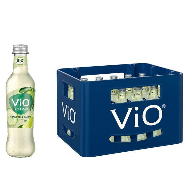 ViO Bio Limo Limette-Gurke 24 x 0,3l