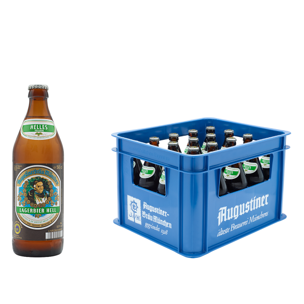 Augustiner Lager Hell 20 x 0,5l