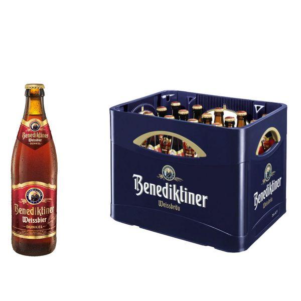 Benediktiner Weissbier Dunkel 20 x 0,5l
