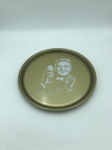 Serviertablett Bitburger Gold Gebraucht