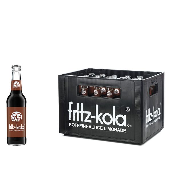 Fritz-Kola Karamell-Kaffee 24 x 0,33l