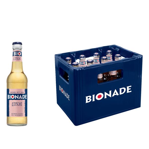 BIONADE Litschi 12 x 0,33l